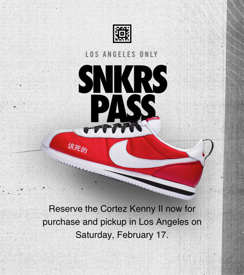 Kendrick Lamar Nike Cortez Kenny II