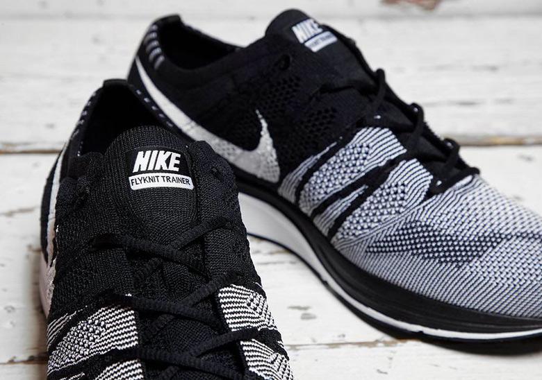 Nike Flyknit Trainer OG Black White | SneakerNews.com