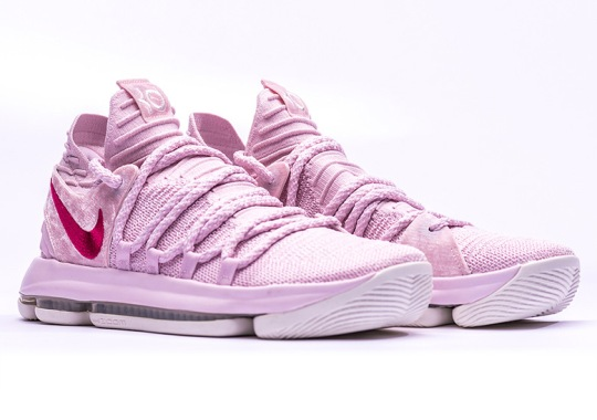 98bd6be62d3c Kevin Durant s Tribute To Aunt Pearl Continues With The Nike KD 10