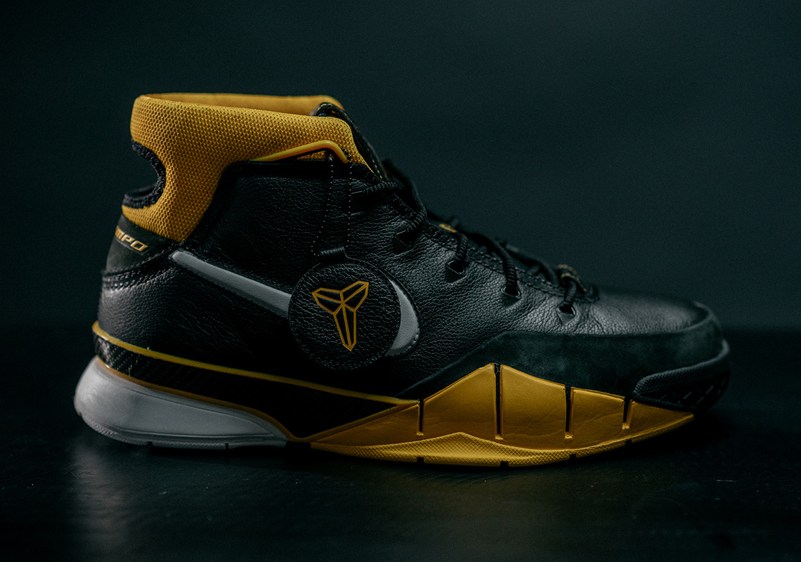 new product 7e373 cbadf Kobe Bryant And Nike Unveil The Nike Zoom Kobe 1 Protro, An Updated Retro