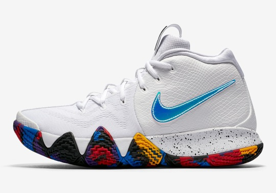 "Nike Kyrie 4 ""March Madness"" Pack Is Coming Soon"