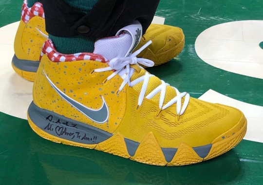 "Nike To Release The Kyrie 4 ""Yellow Lobster"" At House Of Hoops"