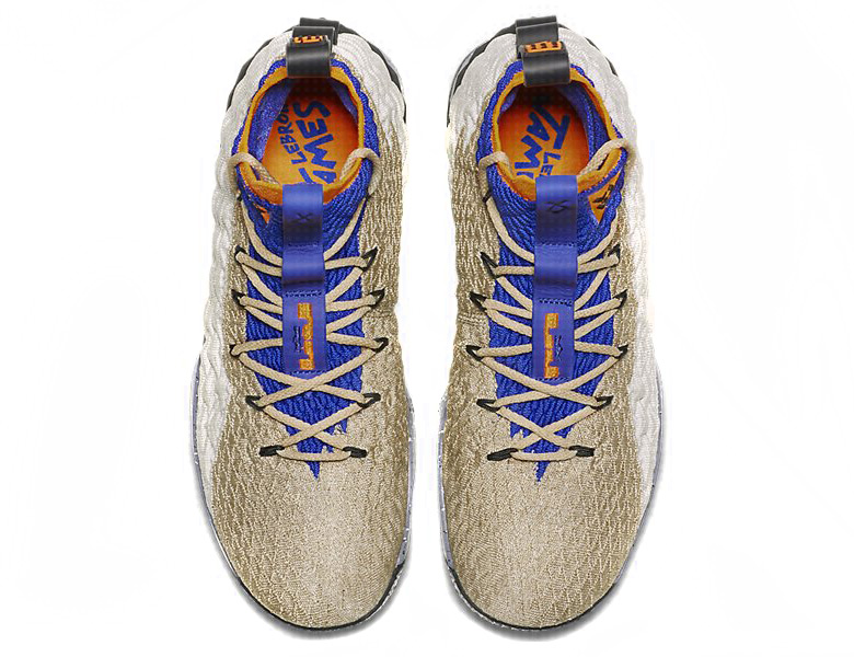 0d181f9ba18 Nike LeBron 15. AVAILABLE AT Nike UK £170. Color  Multi-Colour Total Orange Racer  Blue Style Code  AR4831-900. Advertisement