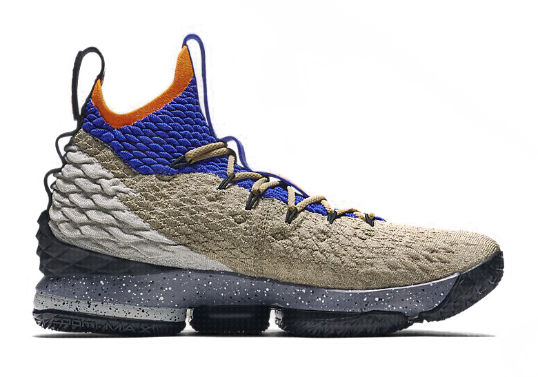 d0b35739bed Nike LeBron 15. AVAILABLE AT Nike UK £170. Color  Multi-Colour Total Orange Racer  Blue Style Code  AR4831-900