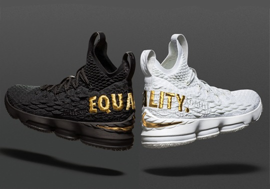 "How To Get The Nike LeBron 15 ""Equality"""
