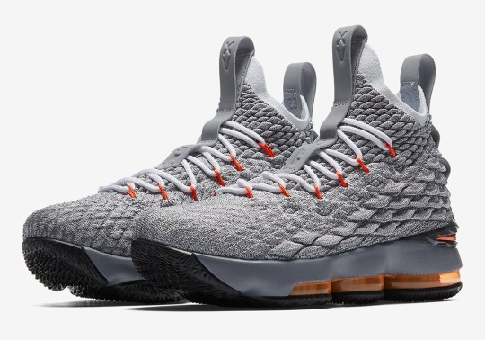 """Nike LeBron 15 """"Safety Orange"""" To Drop Exclusively For Kids"""