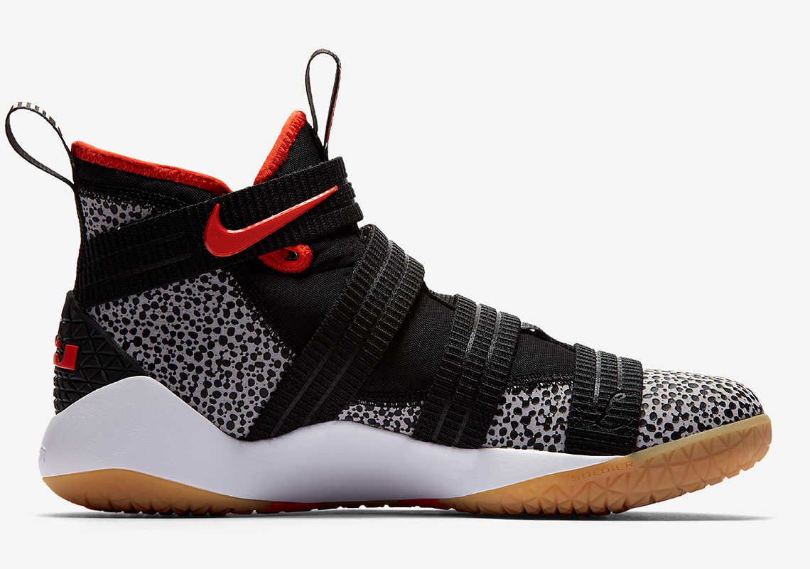 """LeBron Soldier 11 """"Safari"""" 897646-006 Available Now"""