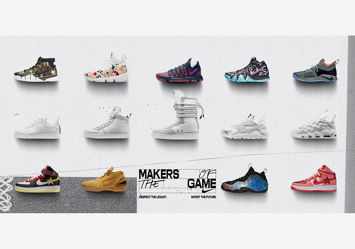 "the latest 2d4dc f86b8 Nike s ""Makers Of The Game"" Collection For All-Star 2018 Revealed"