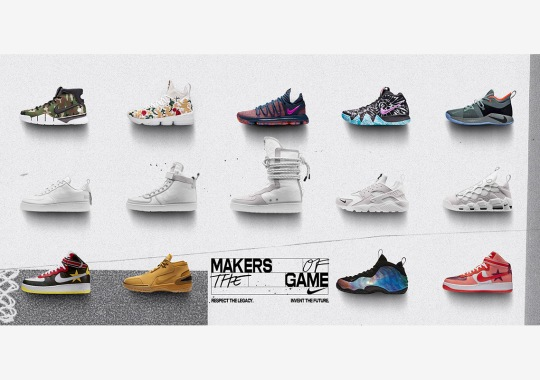 """26c94496dcb4 Nike s """"Makers Of The Game"""" Collection For All-Star 2018 Revealed"""