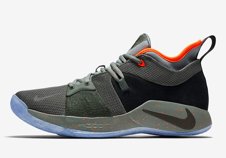 Paul George NIKE PG 2 Cure Shoes AO1757300 New Release Green