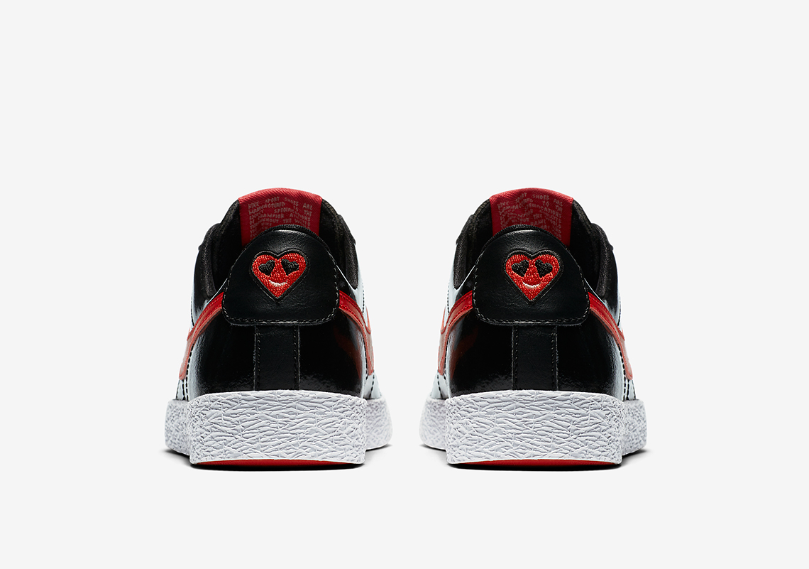 Nike Vandal High Supreme AVAILABLE AT Nike $100. Color: Black/Bleached  Coral/Speed Red