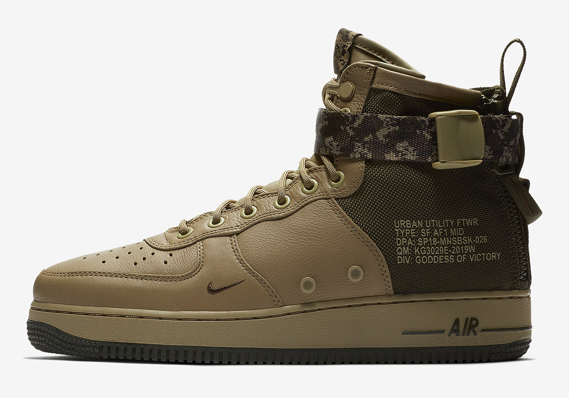 Nike SF-AF1 Mid New Straps And Swooshes