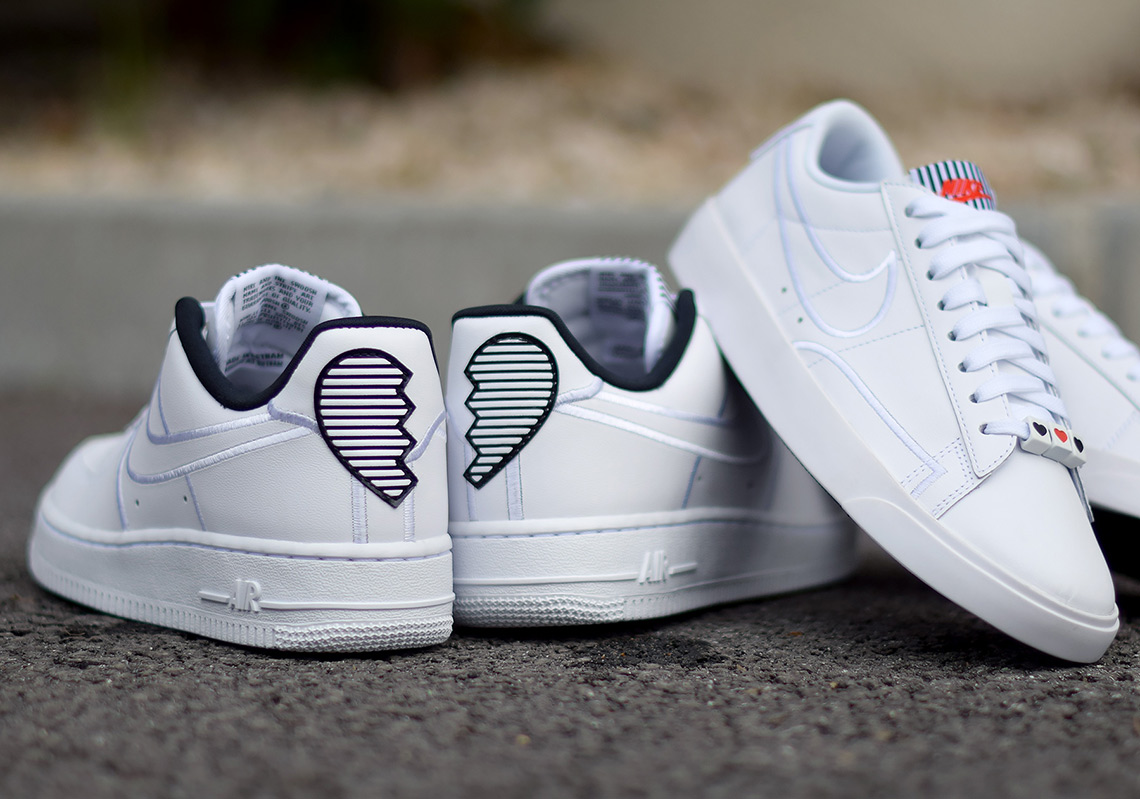 Nike Valentine S Day Pack Broken Hearts Wmns Air Force 1 Blazer