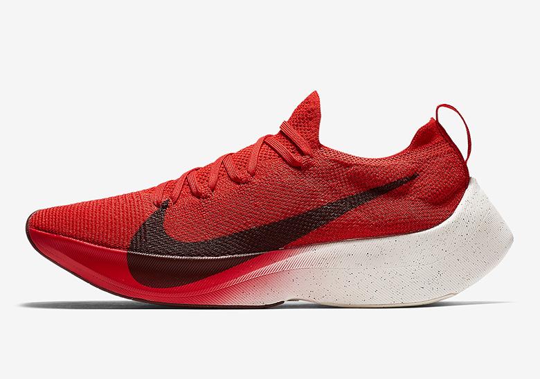 Nike Vapor Street Flyknit Release Date: February 23, 2018 $180. Color:  University Red/Black-White