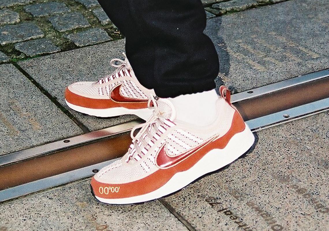 "new style f7eed 0c345 Nike Zoom Spiridon ""GMT"" Release Date February 16, 2018"