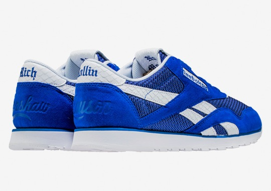 Nipsey Hussle Shows His Affiliation With This Blue Reebok Collaboration
