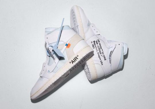 OFF WHITE x Air Jordan 1 Release Info