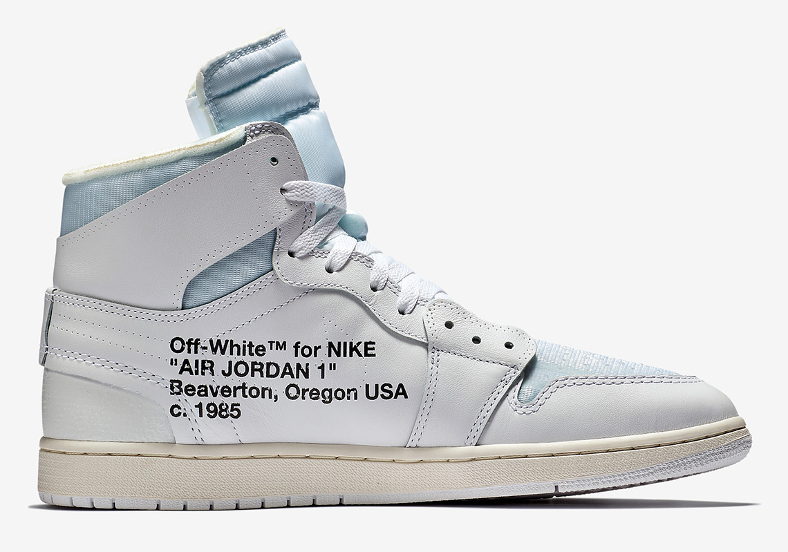 OFF WHITE x Air Jordan 1. Release Date  March 3rd 6943fad543