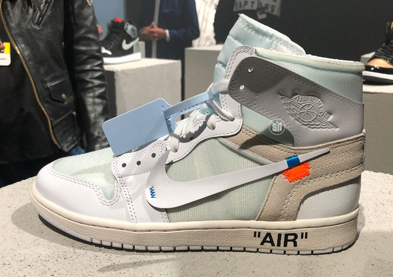 ab161b7c103114 The OFF WHITE x Air Jordan 1 in white will release on March 3rd