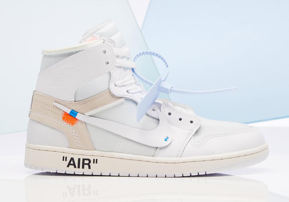 buy popular c6fe3 2de9b Store List For The OFF WHITE x Air Jordan 1