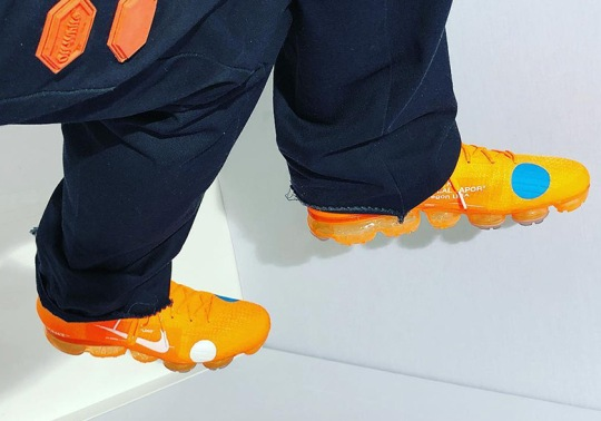 Virgil Abloh Teases An Orange OFF WHITE x Nike Vapormax