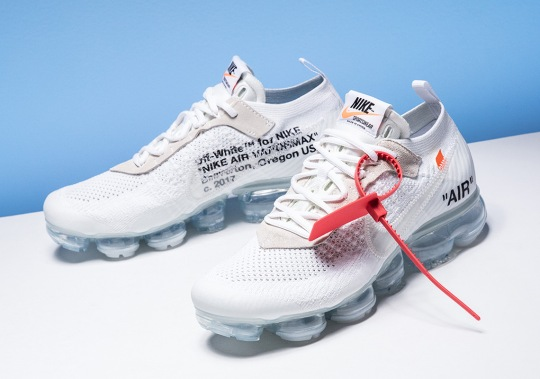 Detailed Look At The OFF WHITE x Nike Vapormax In White
