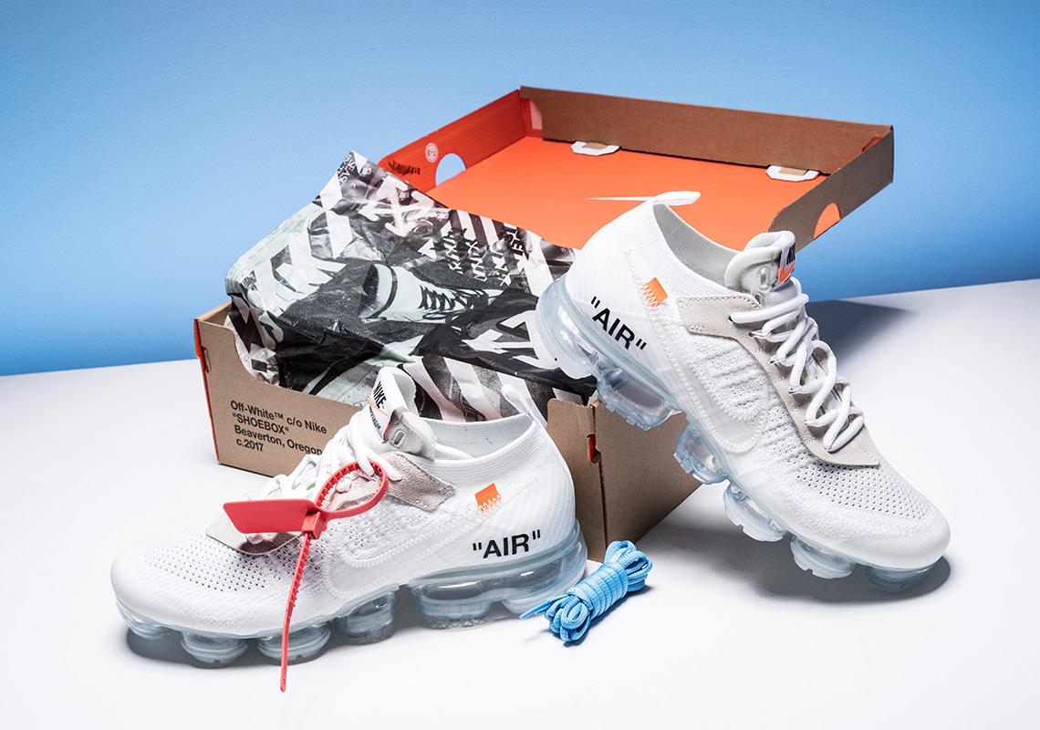 4200eecd888d9 OFF WHITE x Nike Vapormax White Stadium Goods