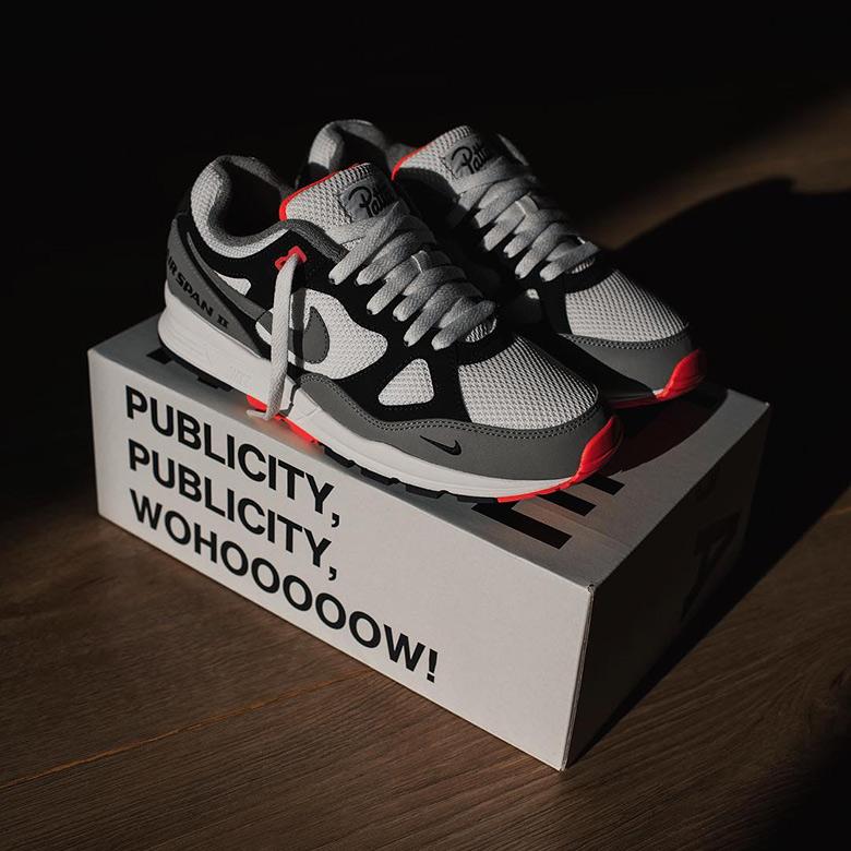 1729e315d6d2 Patta Nike Air Span II