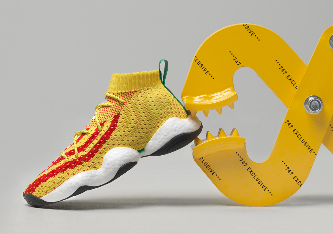timeless design 7eccb 1931b Pharrell And adidas To Release Crazy BYW PW At 747 Warehouse St.