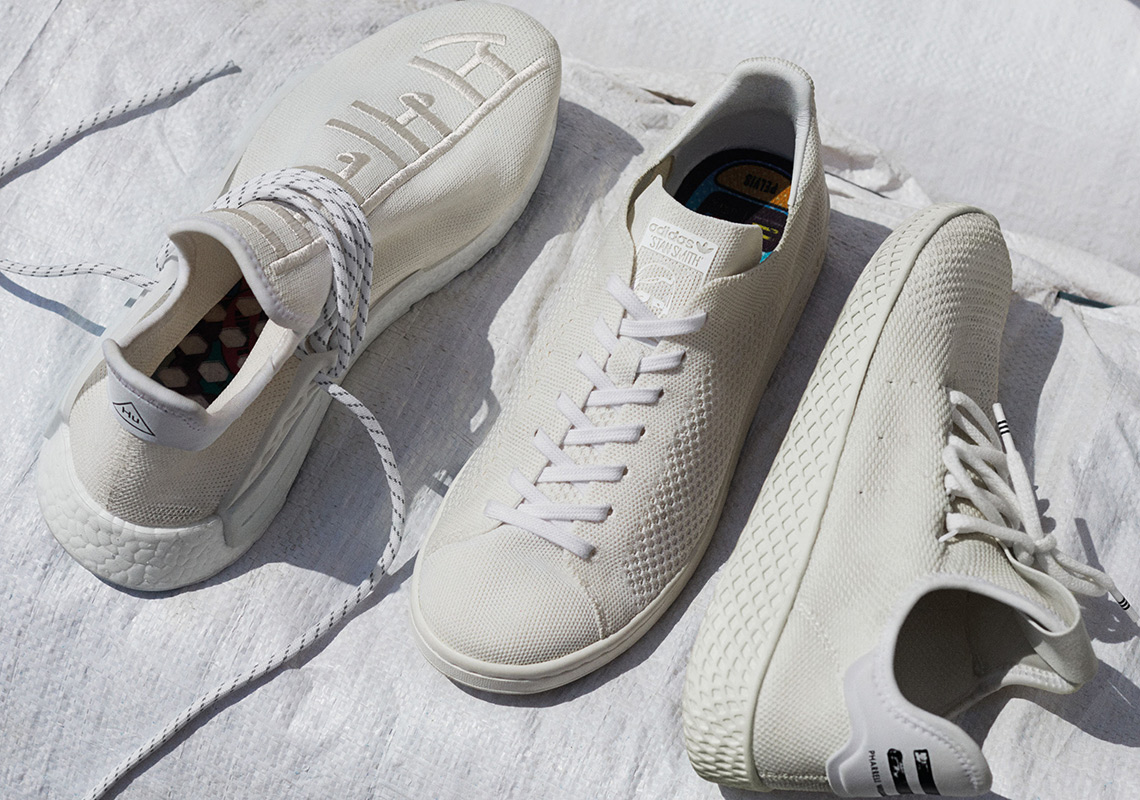 "c2e42ff36 Pharrell And adidas Originals Celebrate Holi Festival With ""Blank Canvas""  Collection"