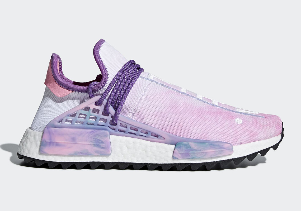 "46db6c6ec124 Official Images Of The Pharrell x adidas NMD Hu ""Holi Festival"""