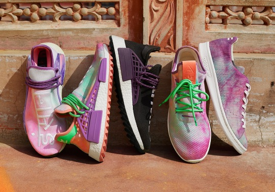 "Pharrell and adidas Originals Unveil The Holi Festival ""Powder Dye"" Pack"