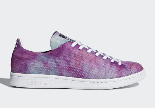 "Pharrell Brings The Colorful ""Holi"" Look To The adidas Stan Smith Primeknit"