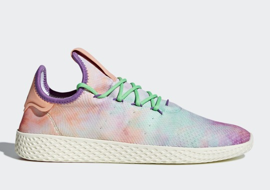 "The Colorful ""Tie Dye"" Look Is Coming To The Pharrell x adidas Tennis Hu"