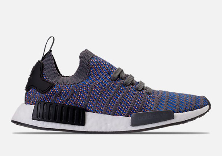 208e14273fb08 adidas NMD STLT AVAILABLE AT FinisLine  170. Color  Hi-Res Blue Core  Black Chalk Coral