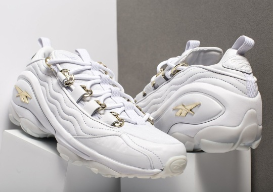 Reebok Releases The DMX Run In White Leather And Gold