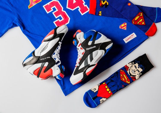 "Shoe Palace To Release A Reebok Shaq Attaq ""Superman"" Collection"
