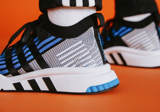 "Size? Reveals Another Exclusive EQT Support Mid In ""OG Blue"""