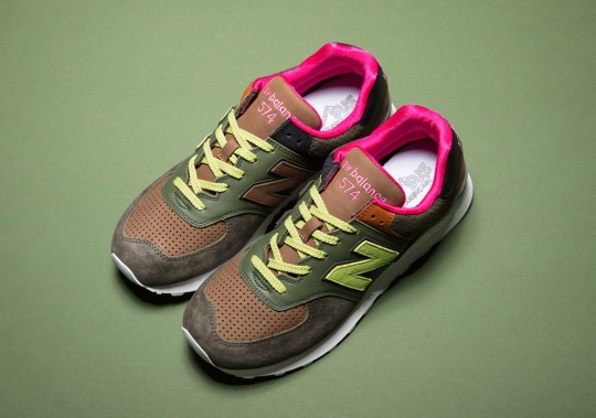 Sneakersnstuff And The New Balance 574 Bring Back A Collaboration From 2007
