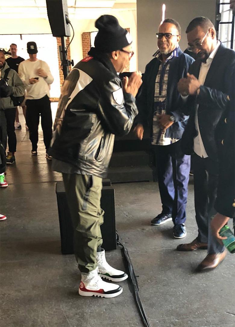 huge selection of 69867 194a2 Spike Lee Air Jordan 1 Reimagined Jester PE | SneakerNews.com