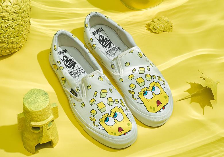 vans x spongebob shoes