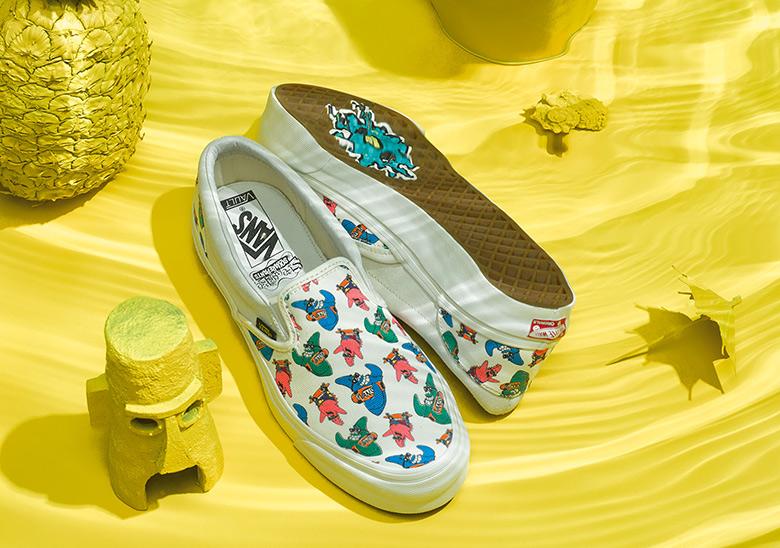 Spongebob Squarepants X Vans Release Info Sneakernews Com