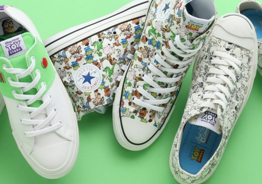 Toy Story And Converse Team Up For Three-Shoe Collection