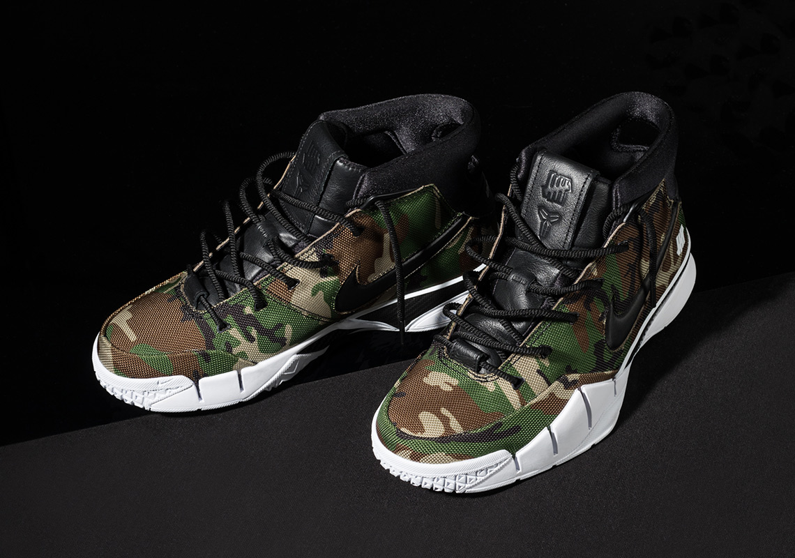 ffb5a6892793 UNDEFEATED Nike Zoom Kobe 1 Protro Camo Official Release Info ...