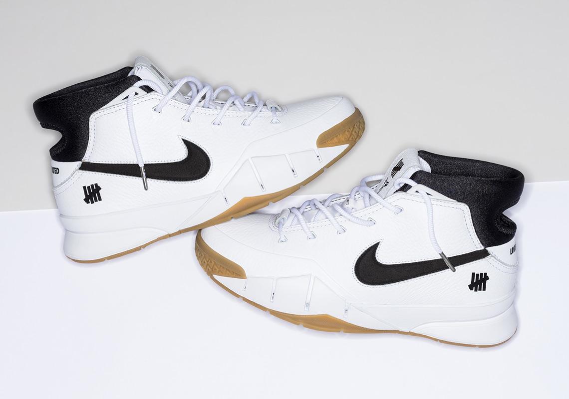a18450e5a448 UNDEFEATED Nike Zoom Kobe 1 Protro White Gum Release Info ...