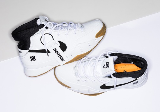 Official Release Info For The UNDEFEATED x Nike Zoom Kobe 1 Protro In White/Gum