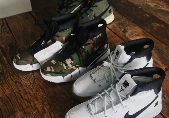 UNDEFEATED To Release Three Different Colorways Of The Nike Zoom Kobe 1 Protro