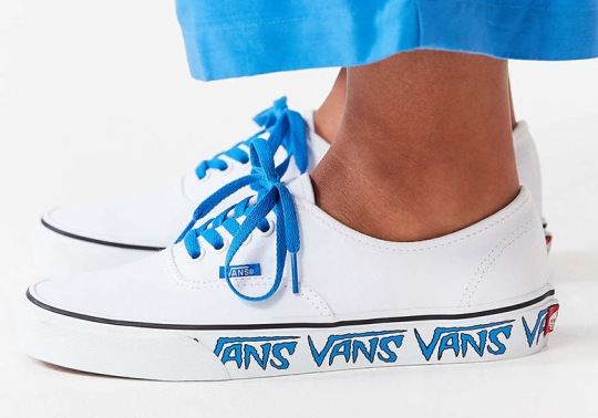 """Vans Authentic """"Sidewall Sketch"""" Is Available In Two Colorways"""