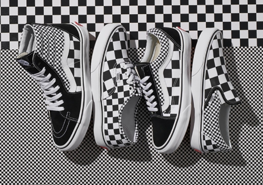 Vans Remixes The Checkboard Print On Four Streetwear Staples