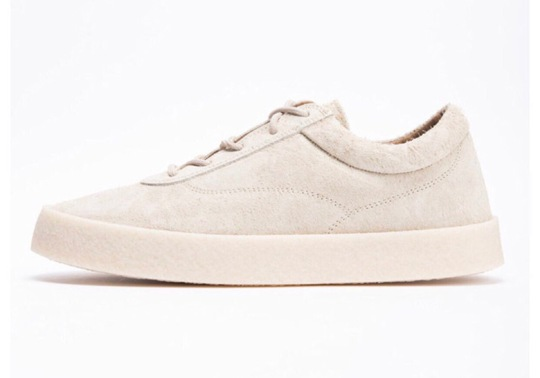 Kanye West Reveals YEEZY Suede Crepe Sneaker For Season 6